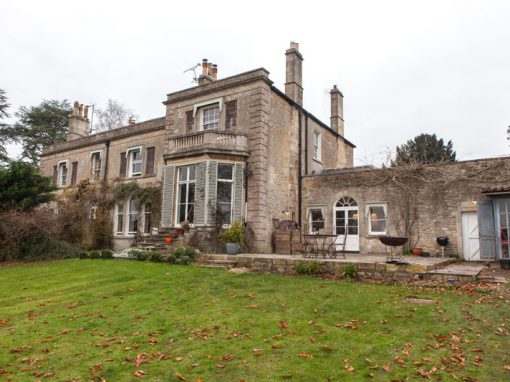 18th century Rectory, Wellow