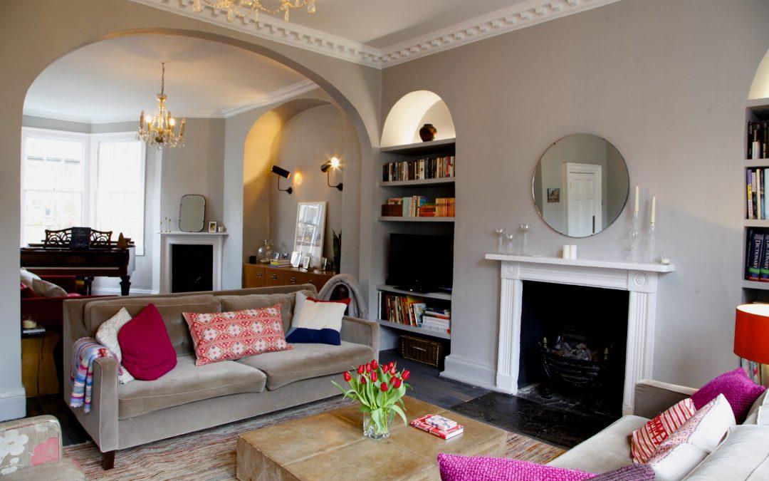 New! A stunning, Georgian house in central Bath.  Sleeps 10.